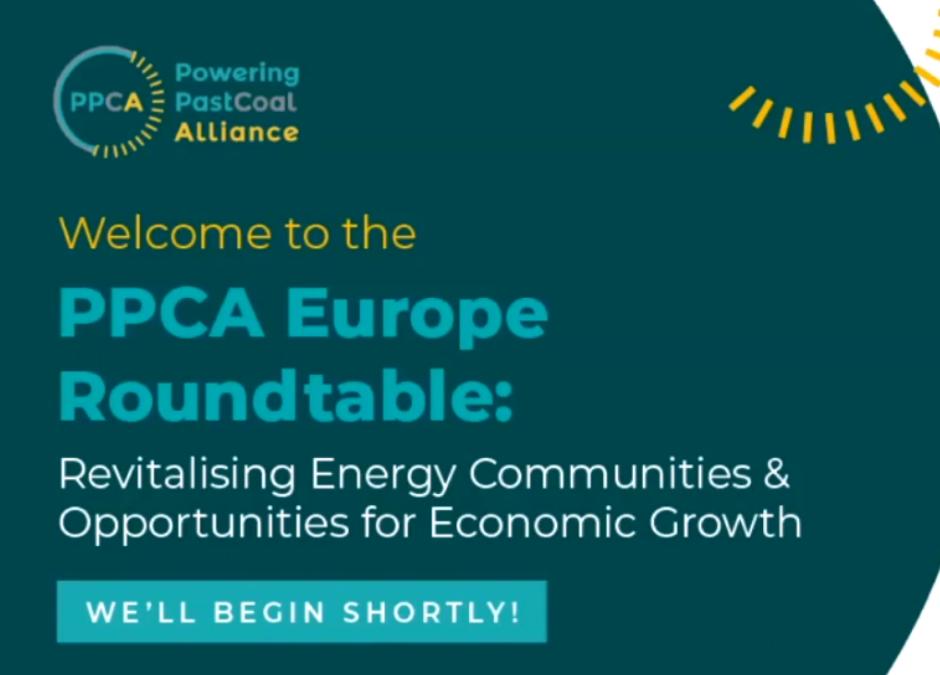 Okrągły stół PPCA Europe: Rewitalizacja społeczności energetycznych i możliwości wzrostu gospodarczego