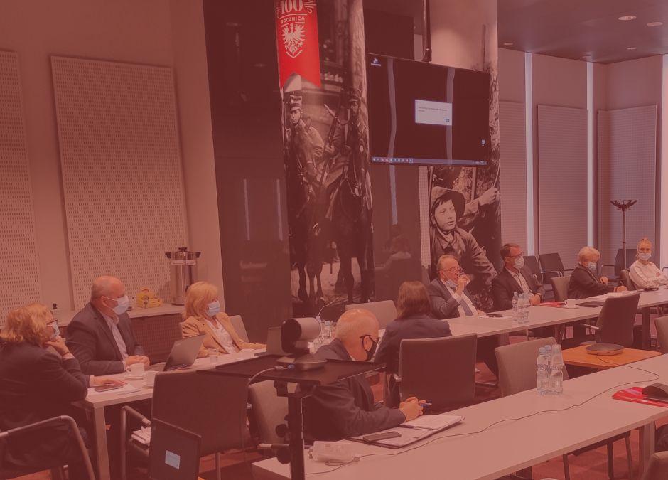 Posiedzenie Komisji Gospodarki Sejmiku Województwa Wielkopolskiego