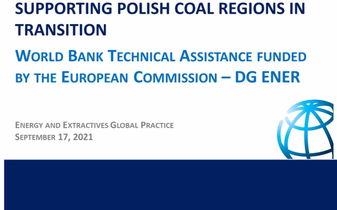 Wsparcie polskich regionów węglowych w okresie transformacji – misja Banku Światowego